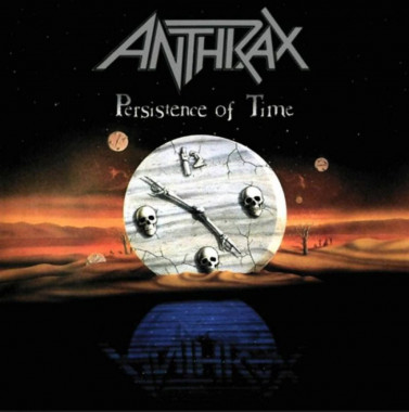 Anthrax • Persistence Of Time / Orange Coloured Vinyl (LP)