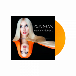 Max Ava • Heaven & Hell / Orange Transparent Vinyl (LP)
