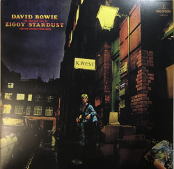 Bowie David • The Rise And Fall Of Ziggy Stardust And The Spiders From Mars / Black (LP)