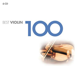 Výber • 100 Best Violin Various (6CD)