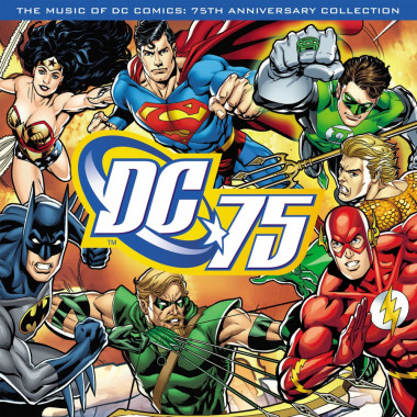 Výber • Music Of DC Comics 75th Ann Collection / Red Vinyl (LP)