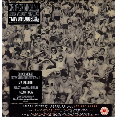 Michael George • Listen Without Prejudice / MTV Unplugged (LP)