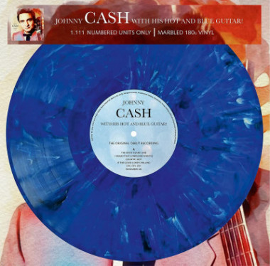 Cash Johny • With His Hot And Blue Guitar (LP)