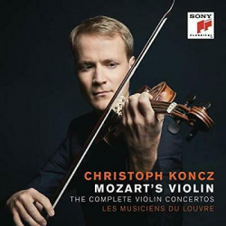 Koncz Christoph • Mozart's Violin / The Complete Violin Concertos (2CD)