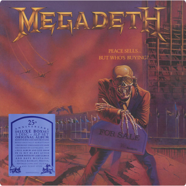 Megadeth • Peace Sells..but Who's Buying? (5CD+3LP)