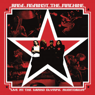 Rage Against The Machine • Live At The Grand Olympic Auditorium (2LP)