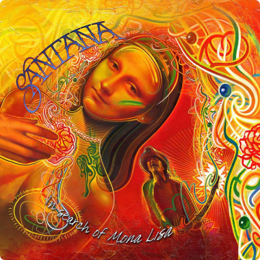 Santana • In Search Of Mona Lisa (LP)