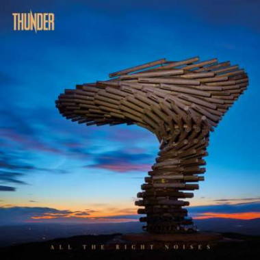 Thunder • All The Right Noises / Orange + Blue Galaxy Vinyl (2LP)