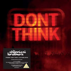 Chemical Brothers • Don't Think (DVD+CD+Kniha)