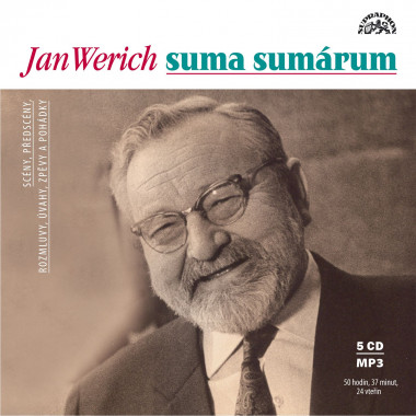 Audiokniha: Werich Jan • Suma sumárum (5CD-MP3)