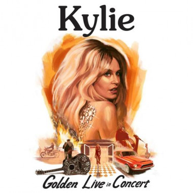 Minogue Kylie • Kylie - Golden - Live In Concert (2CD+DVD)