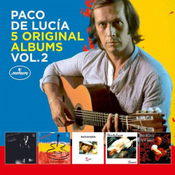 De Lucía Paco • 5 Original Albums Vol. 2 (5CD BOX)
