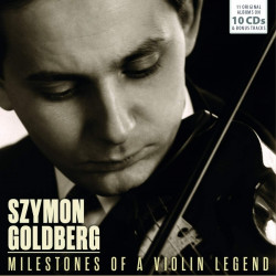 Goldberg Szymon • Milestones Of A Violin Legend (10CD)