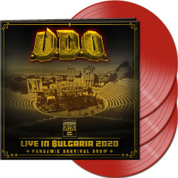 U.D.O. • Live In Bulgaria 2020 / Limited Red Vinyl (3LP)