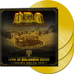 U.D.O. • Live In Bulgaria 2020 / Limited Yellow Vinyl (3LP)